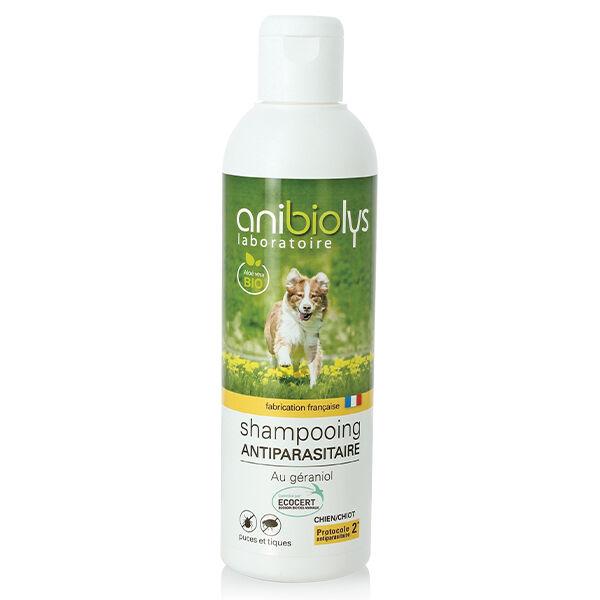 Anibiolys Chiens Shampooing Antiparasitaire Bio 250ml