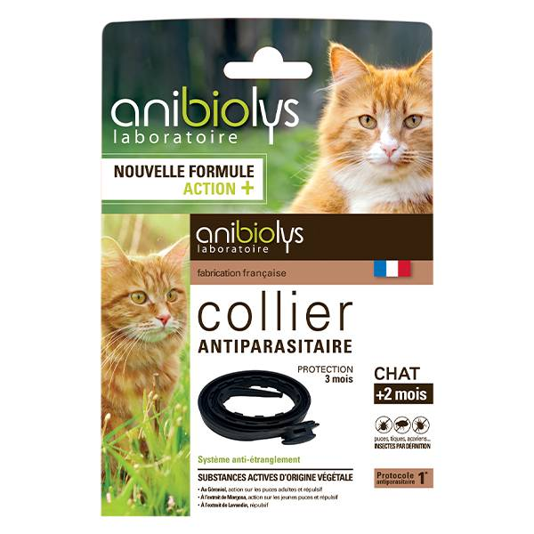 Anibiolys Anybiolys Chats Collier Antiparasitaire