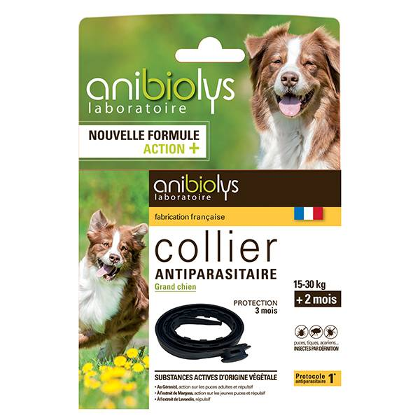 Anibiolys Anybiolys Chiens Collier Antiparasitaire Grand Chien