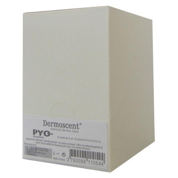 LDCA Dermoscent Recharge pour Box Shampoing Pyoclean monodoses 20 x 15ml