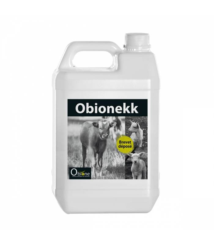 obionekk supplement nutritionnel digestif (cryptosporidies) bovins solution orale bidon de 5l