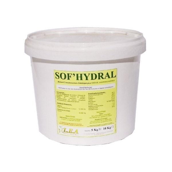 Sennecq Bonne hydral cc complement alimentaire rehydratant cheval poudre orale seau de 5kg