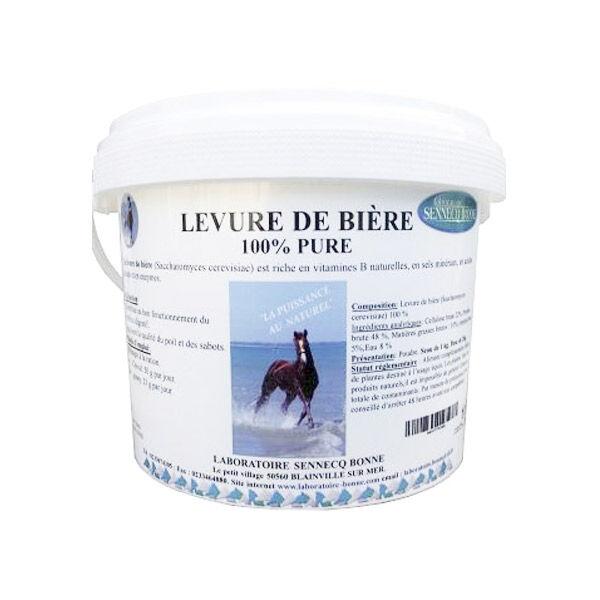 Sennecq Bonne Levure de Bière Cheval Poudre Orale 5kg