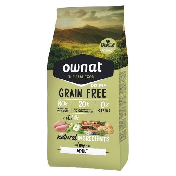 Ownat Grain Free Prime Chat Adulte Croquettes 1kg
