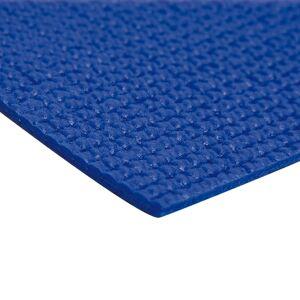 Tapis de Yoga Bleu - Anti-Dérapant - Publicité