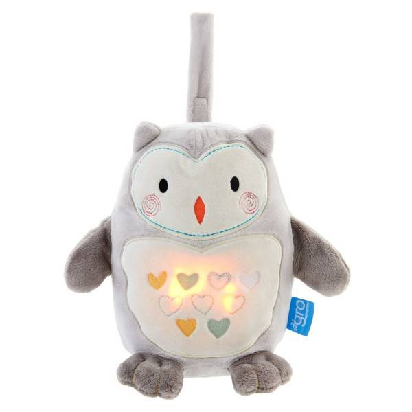 Tommee Tippee Grocompagny Peluche Veilleuse Ollie Le Hibou Rechargeable
