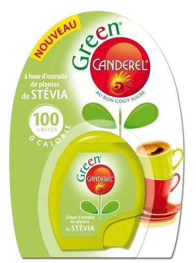 Canderel Green Stevia 100 unités