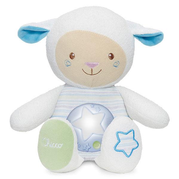 Chicco First Dreams Mouton Tendres Mots Doux Bleu