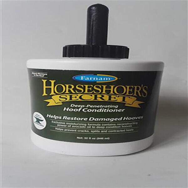 horseshoer's secret topical hoof conditionner creme hydratante sabot cheval flacon de 946ml