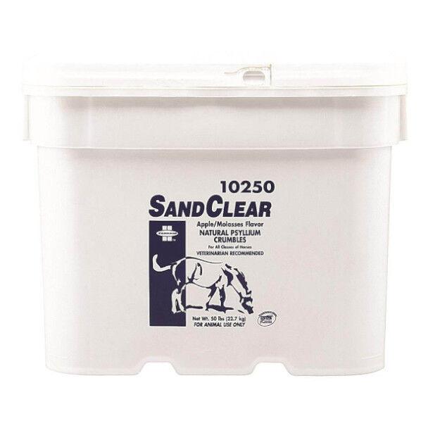 Pommier Nutrition Sand Clear 99 Emollients (Psyllium) Pour Cheval Granule 22,65kg