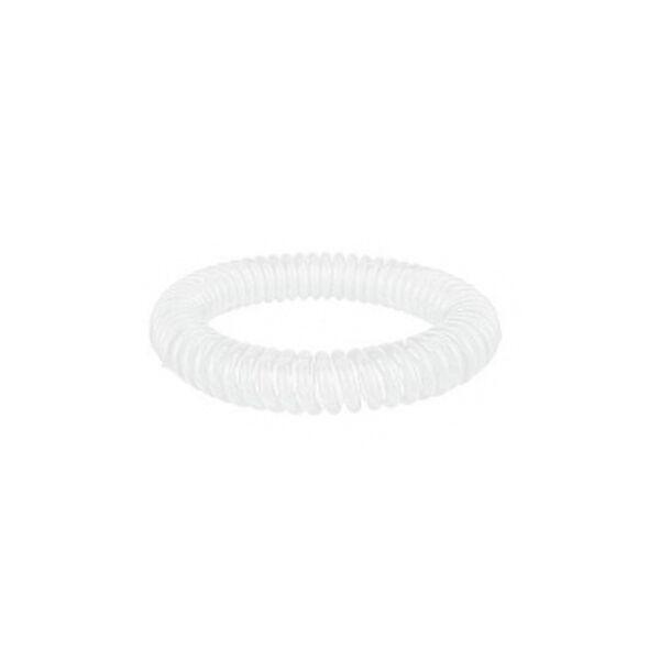 Bracelet Citronnelle à Ressort Silicone Blanc