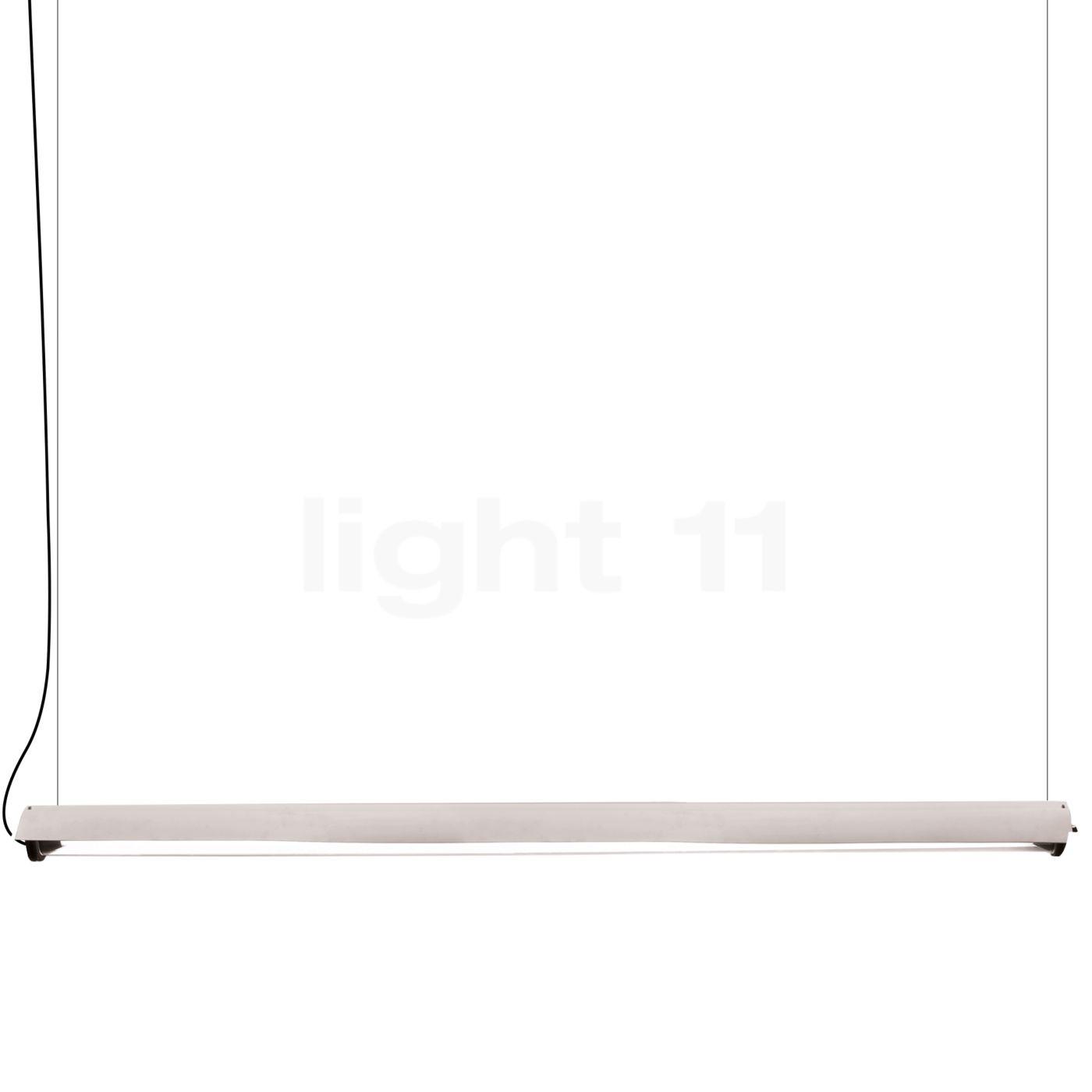 DCW In The Tube 360° - 1600 Suspension LED avec FLAP, volet blanc/sans maille