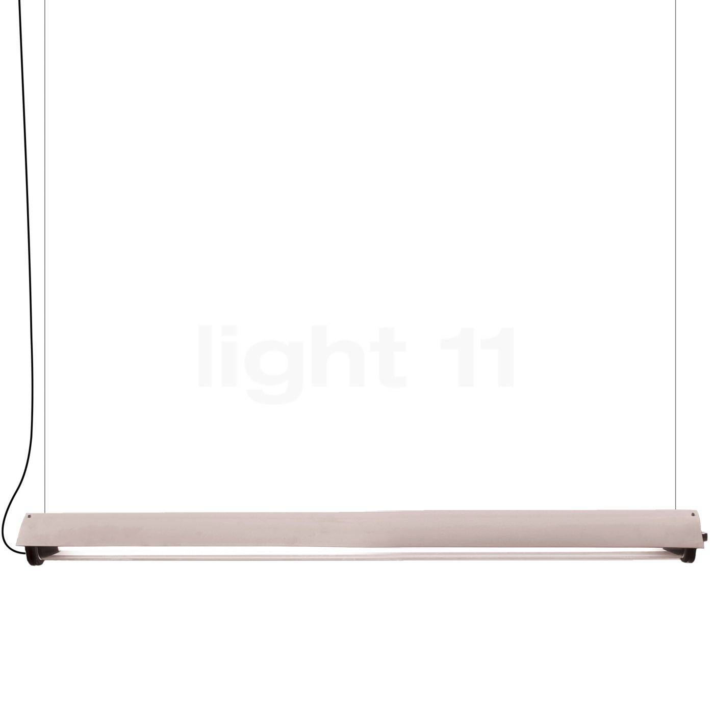 DCW In The Tube 360° - 1600 Suspension LED avec wing, ailette blanche/sans maille