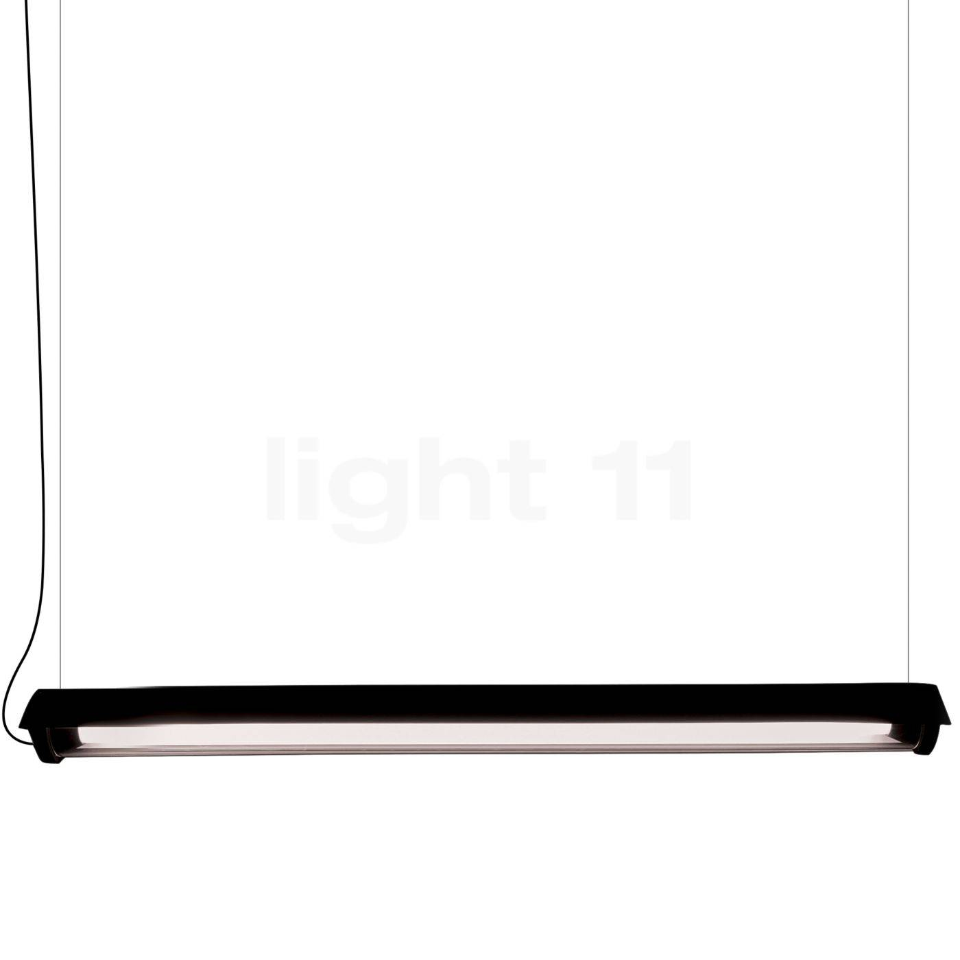 DCW In The Tube 360° - 1600 Suspension LED avec wing, ailette noire/sans maille