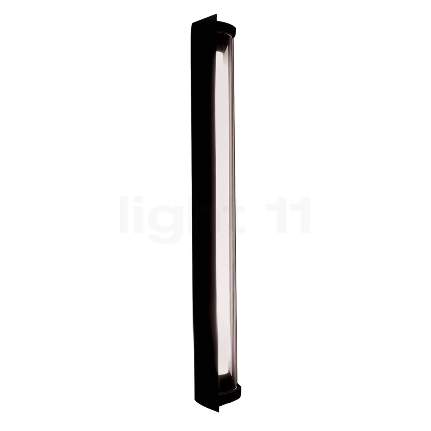 DCW In The Tube 360° - 700 Applique LED avec FLAP, volet noir/sans maille