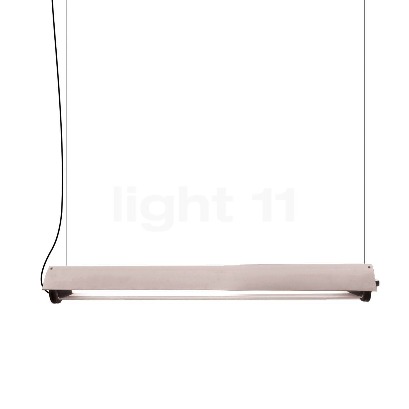 DCW In The Tube 360° - 700 Suspension LED avec WING, ailette blanche/sans maille