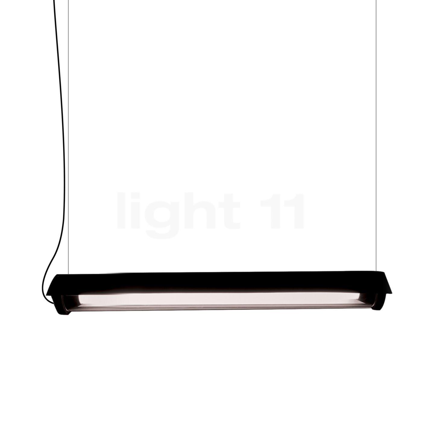 DCW In The Tube 360° - 700 Suspension LED avec WING, ailette noire/sans maille