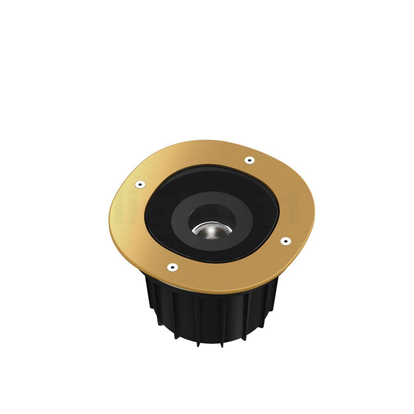 Flos A-Round 150 LED, doré brossé, angle de projection 25°