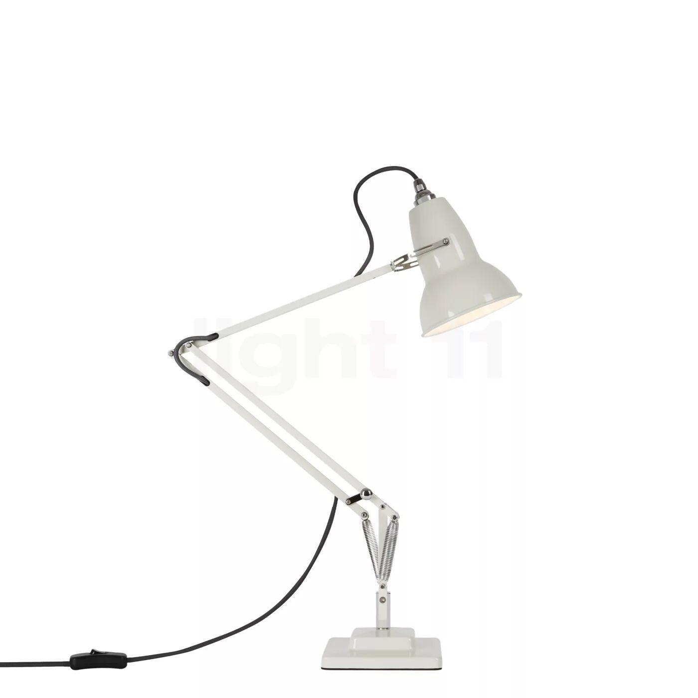 Anglepoise Original 1227 Lampe de bureau, lin blanc / câble gris