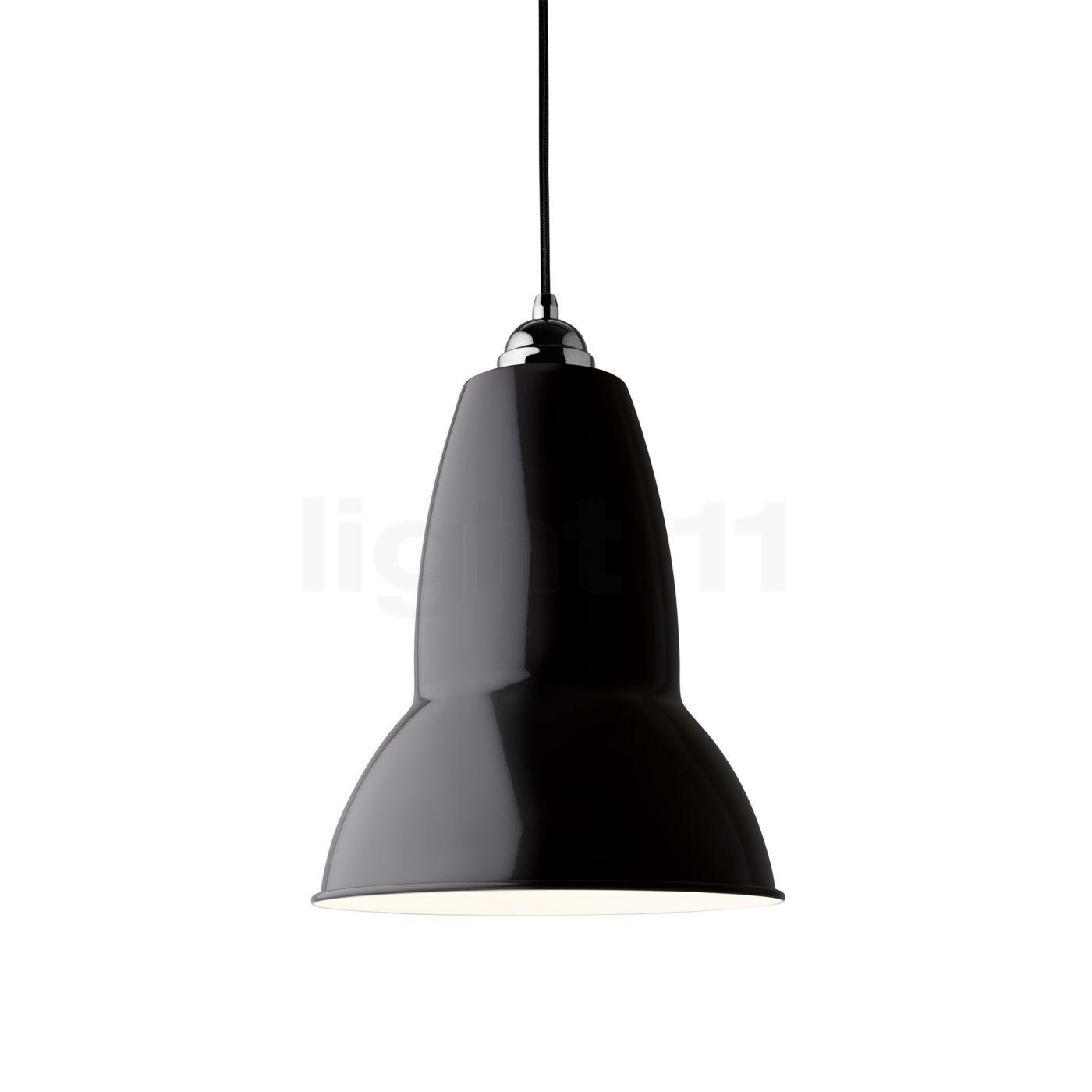 Anglepoise Original 1227 Maxi Suspension, noir/câble noir