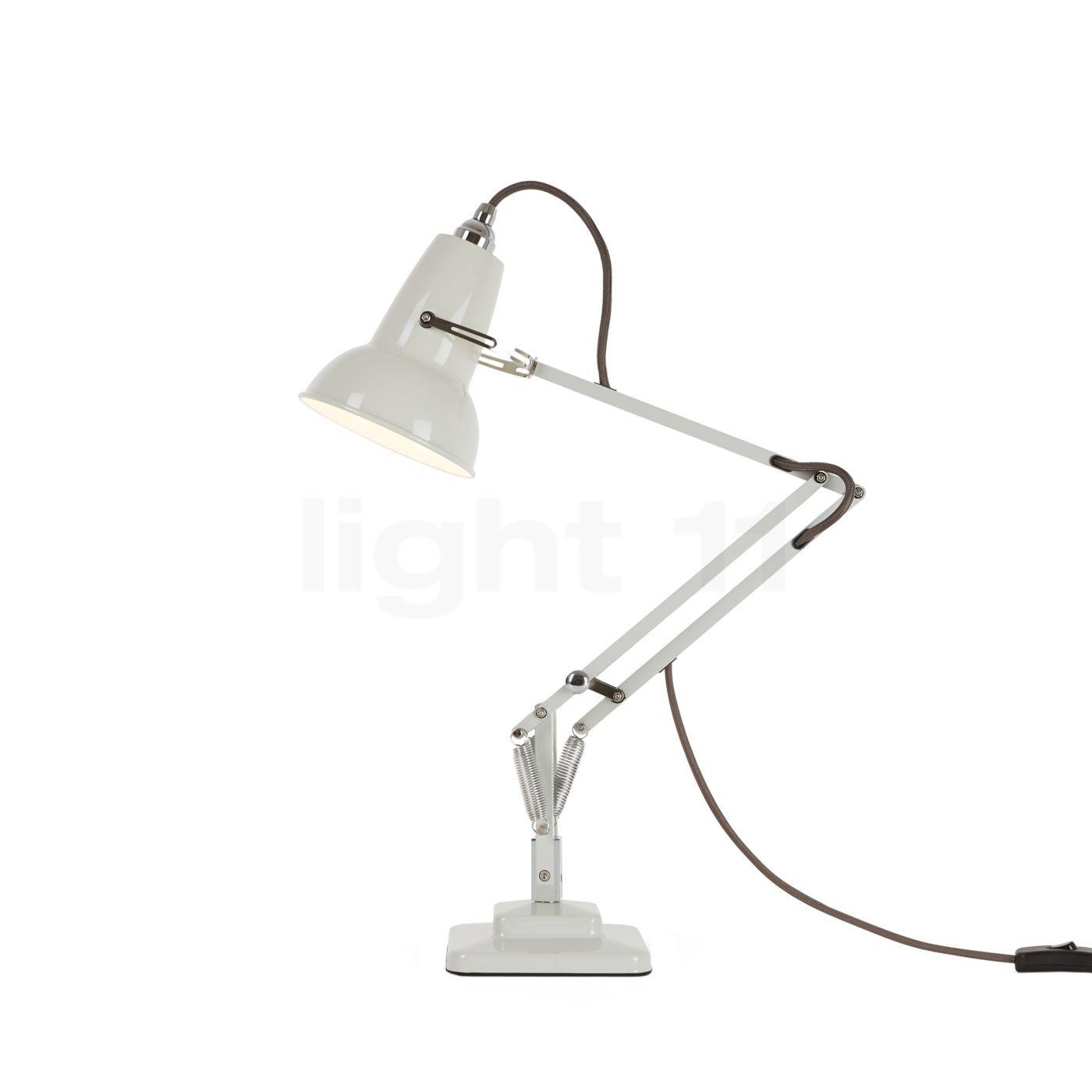 Anglepoise Original 1227 Mini Lampe de bureau, lin blanc