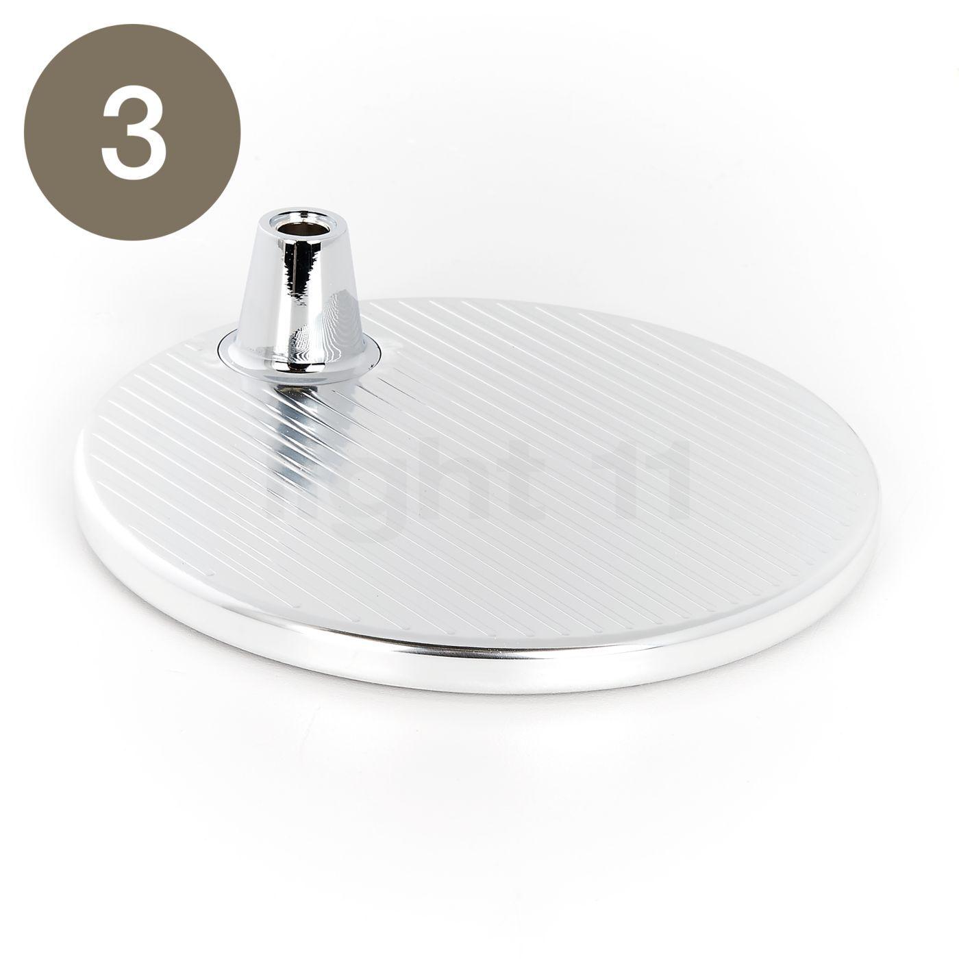 Artemide Pièces détachées pour Tolomeo Micro, alu, Pièce n° 3 : pied de lampe