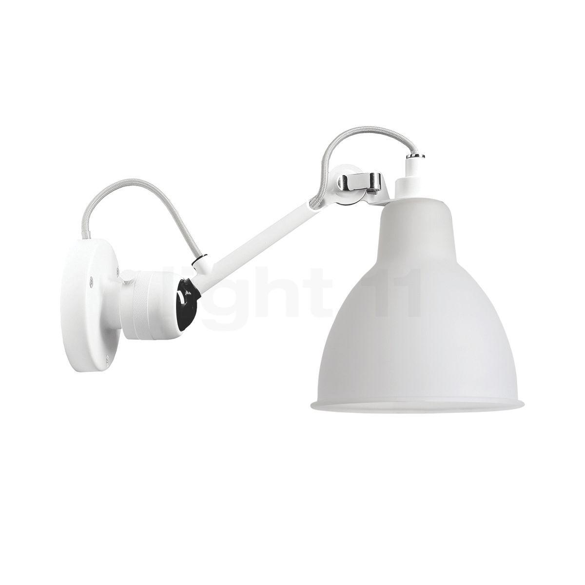 DCW Lampe Gras No 304 Applique blanche, opale , Vente d'entrepôt, neuf, emballage d'origine