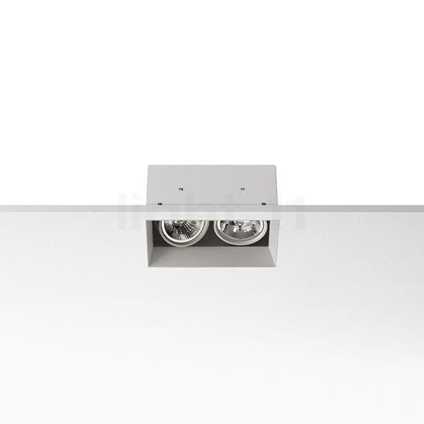 Flos Compass Box recessed large 2L, blanc , Vente d'entrepôt, neuf, emballage d'origine