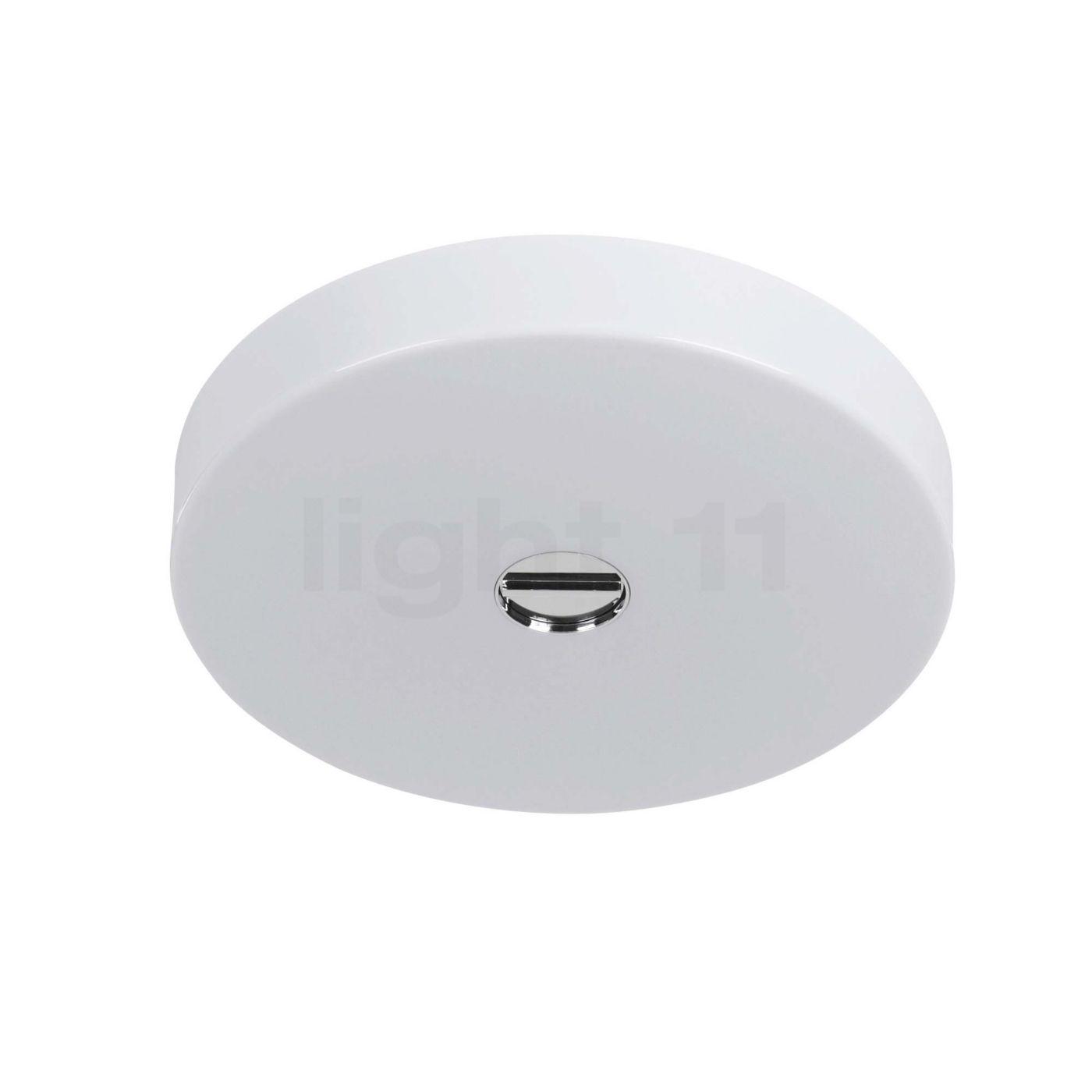 Flos Mini Button, polycarbonate, IP44