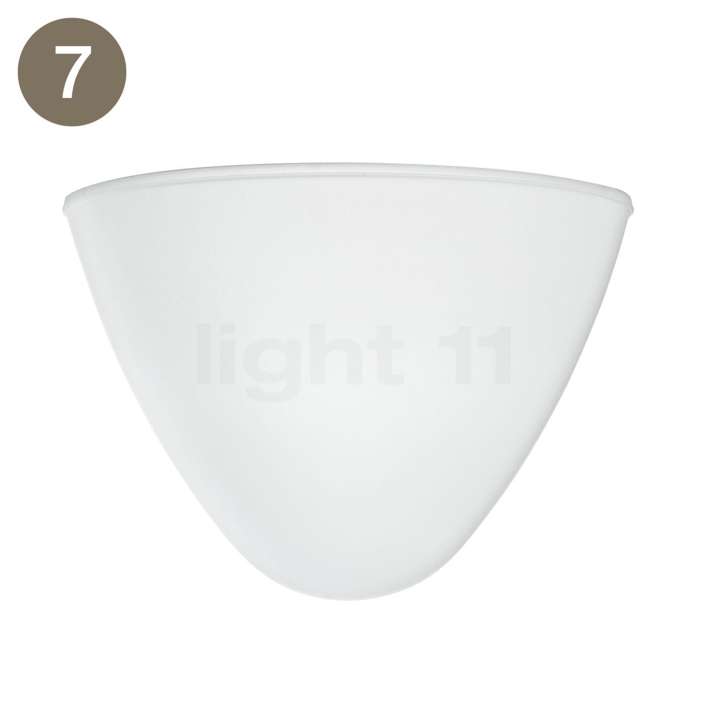 Flos Pièces détachées pour Romeo Soft S2, Pièce n° 7 : verre interne acidifié