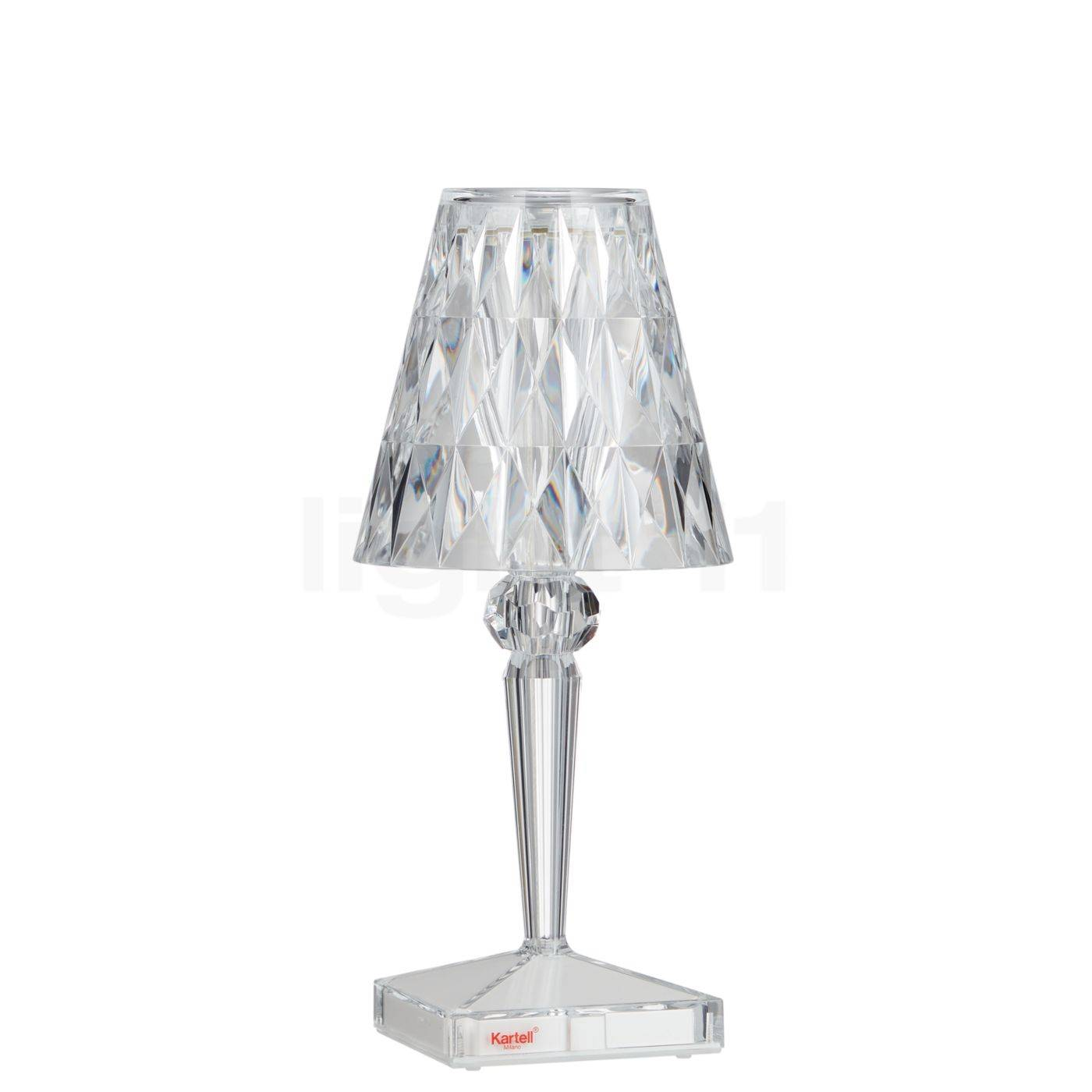 Kartell Battery LED, transparent