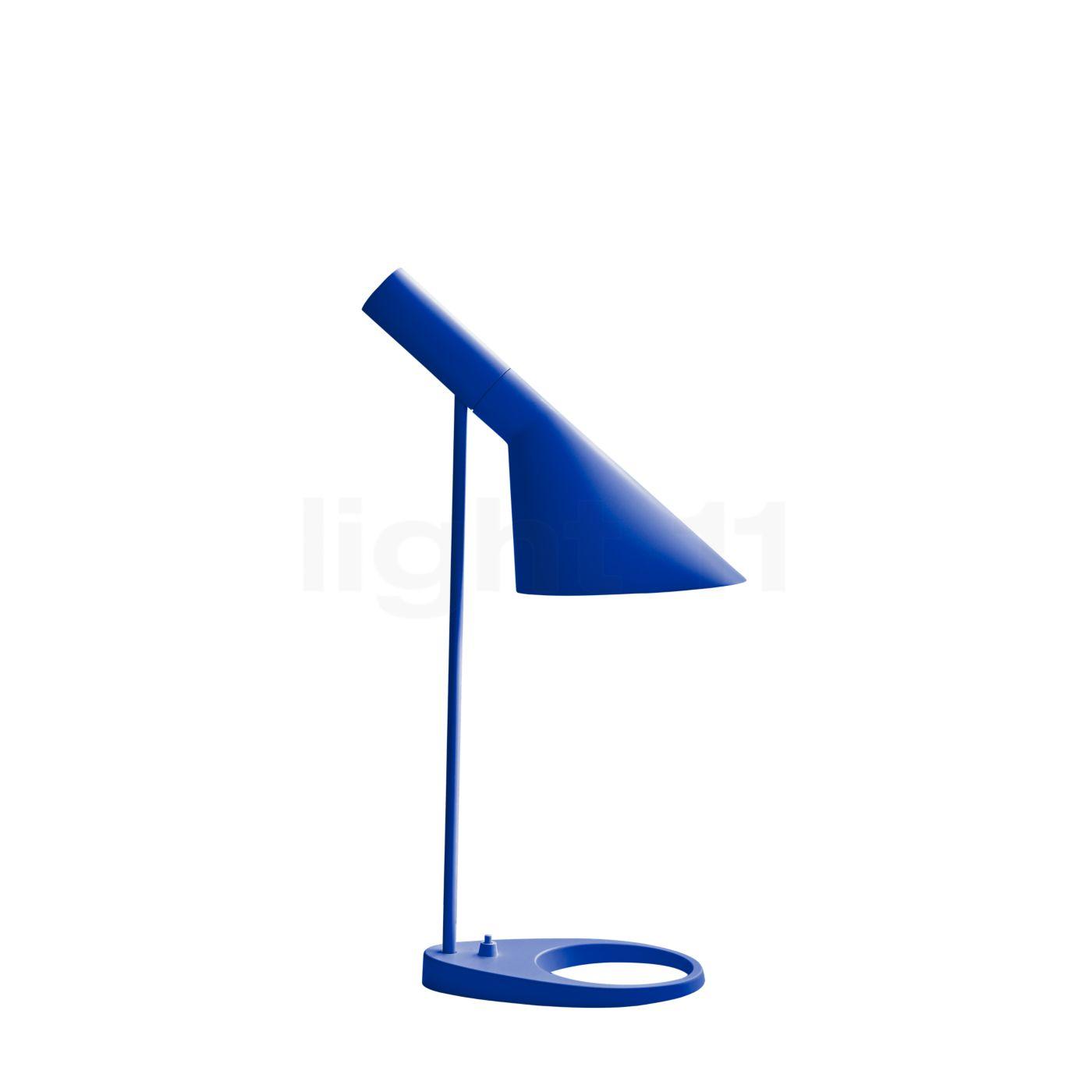 Louis Poulsen AJ Mini Lampe de table, Ultra Blue
