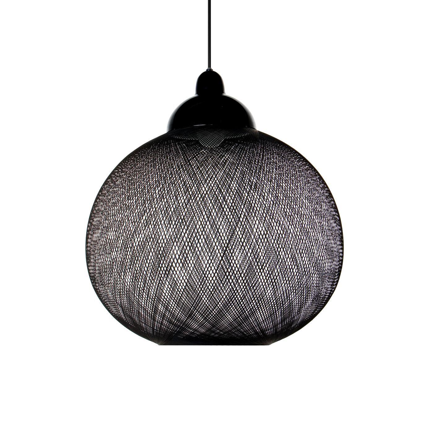 Moooi Non Random Light, noir, ø48 cm