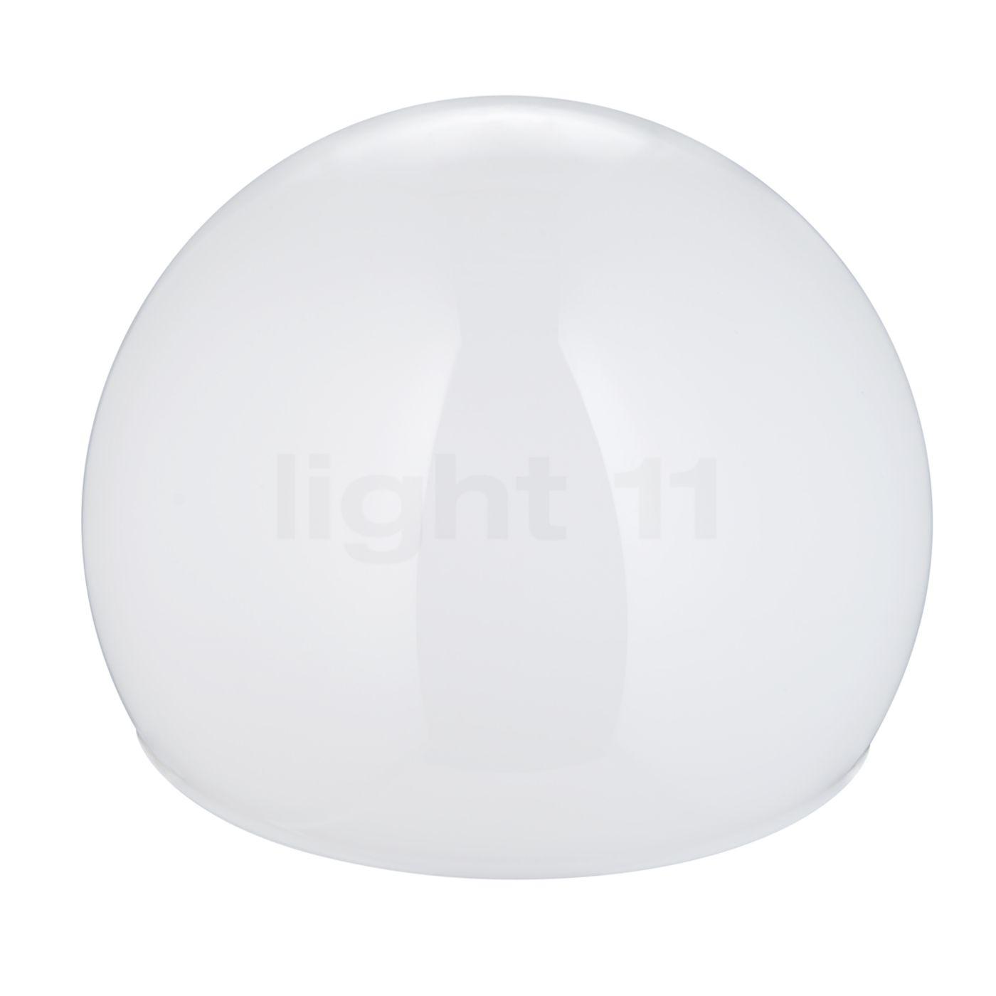 Tecnolumen Globe pour Lampes Wagenfeld, Pièce de rechange, opale