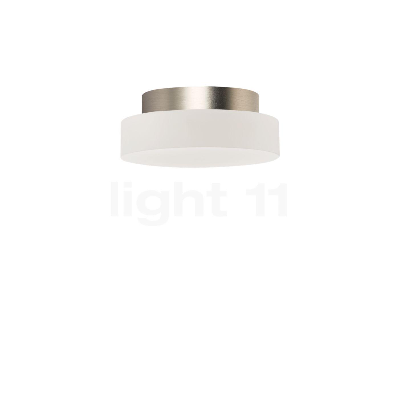 Top Light Allround Flat Plafonnier ø12 cm LED, nickel mat