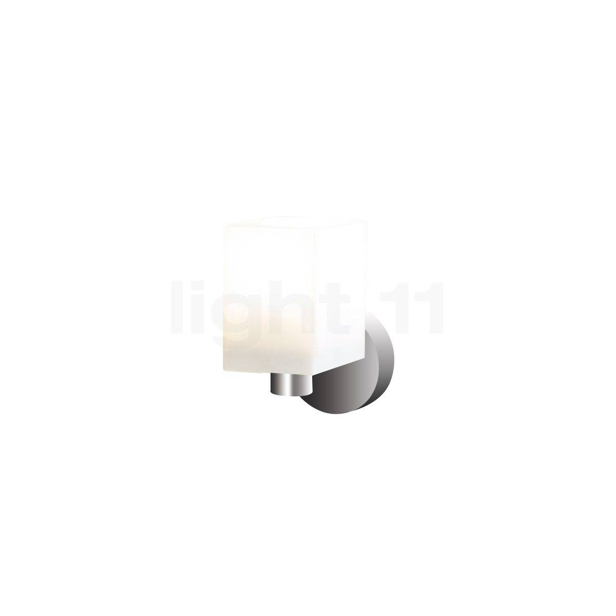 Top Light Cube mini Applique, chrome brillant