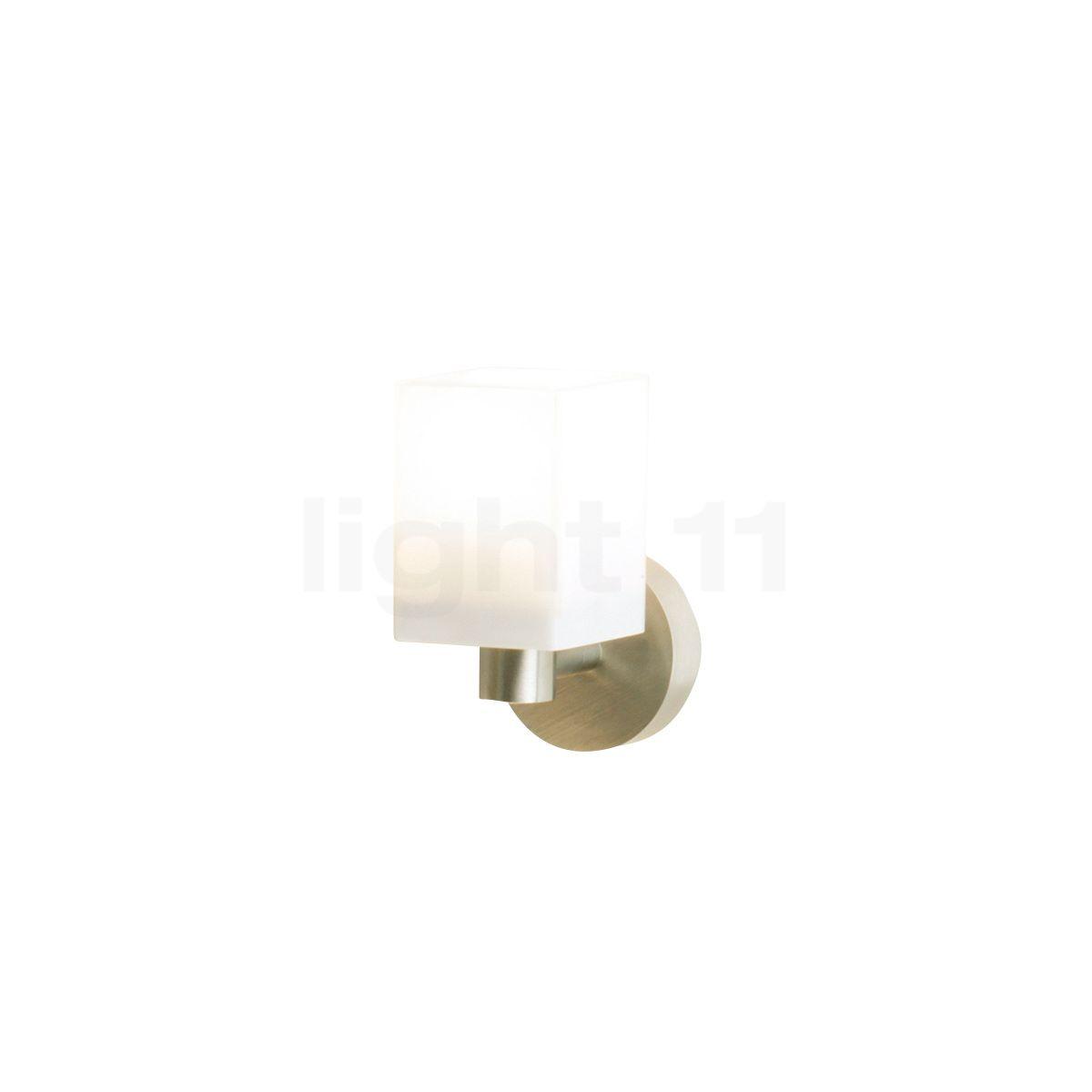 Top Light Cube mini Applique, nickel mat