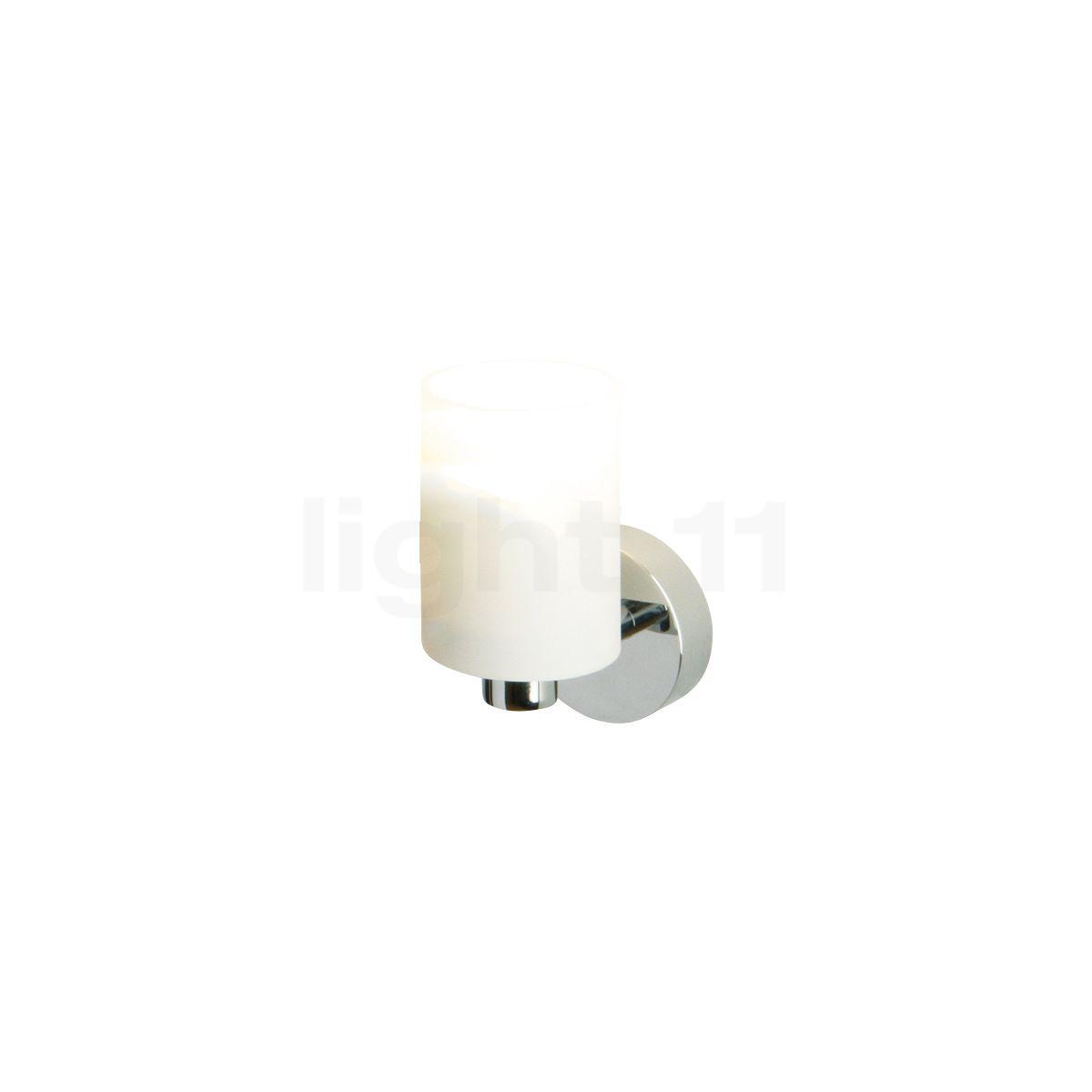 Top Light Tube mini Applique, chrome brillant