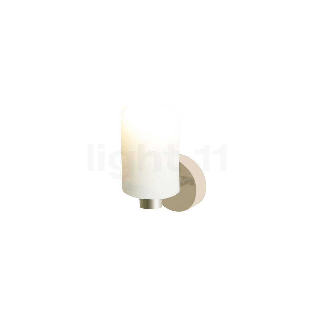Top Light Tube mini Applique, nickel mat