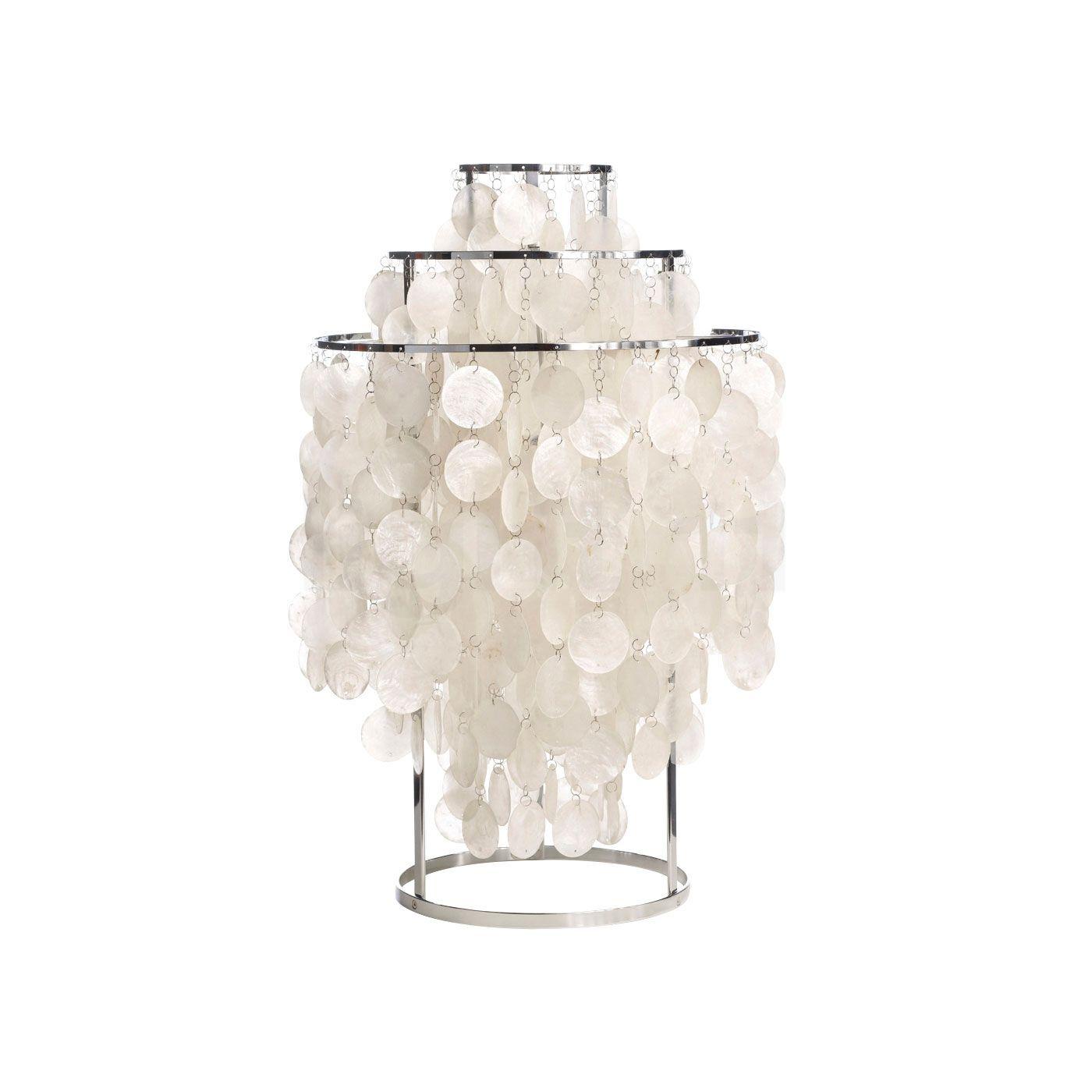 Verpan Fun 1TM Lampe de table, blanc nacré