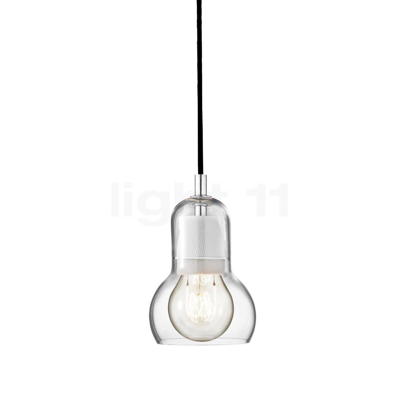 &tradition Bulb SR1 Suspension, câble textile noir