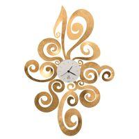 ARTI E MESTIERI horloge murale NOEMI (Feuille d'or - Métal et verre) <br /><b>187.15 EUR</b> My Area Design