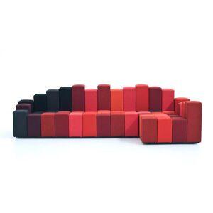 MOROSO canapé avec élément d'angle DO-LO-REZ (Droite - Tissu / structure en bois) - Publicité
