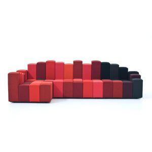MOROSO canapé avec élément d'angle DO-LO-REZ (Gauche - Tissu / structure en bois) - Publicité