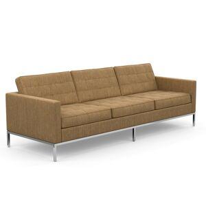 KNOLL canapé à 3 places FLORENCE en tissu (Rivington Lion - Revêtement Cat. S et structure en acier chromé) - Publicité
