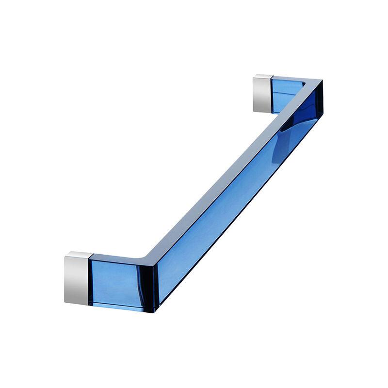 KARTELL by Laufen porte serviettes RAIL (Bleu coucher de soleil L 60 cm - PMMA transparent)
