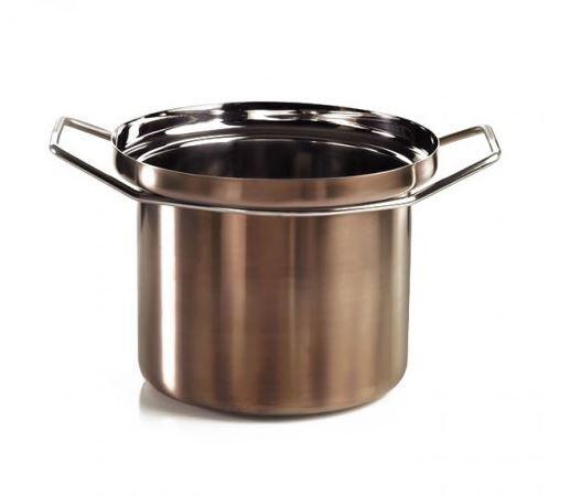 KNINDUSTRIE casserole FOODWEAR Ø cm 26 (Bronze - acier inox 18/10)