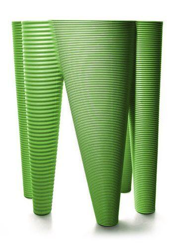 SERRALUNGA vase THE VASES (Vert pomme - LLDPE)