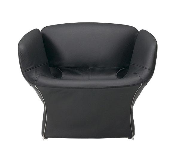 MOROSO fauteuil BLOOMY (Café - Cuit Cat. T)