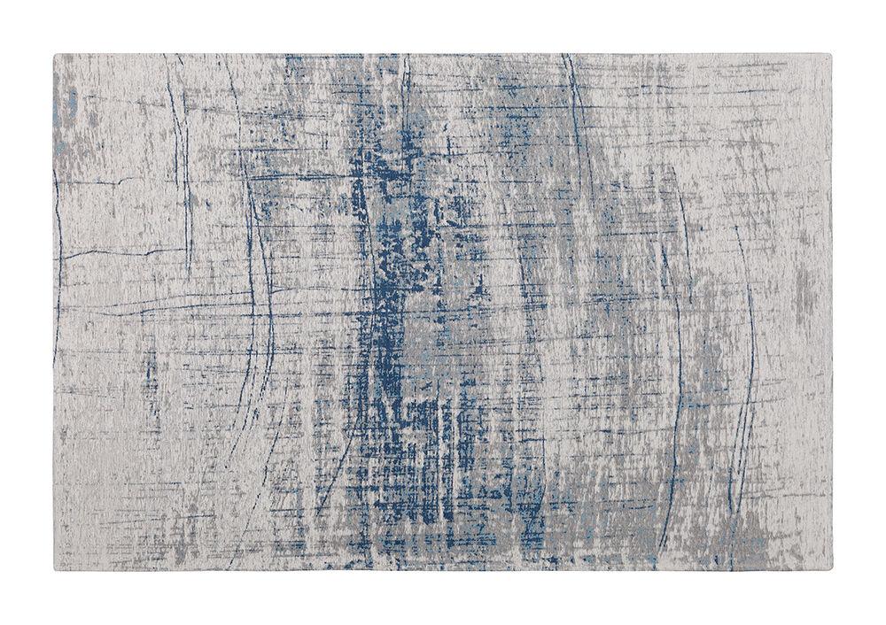 MEME DESIGN tapis rectangulaire RAGGIO DI LUNA (140 x 200 cm - Cotton de chenille et polyester)
